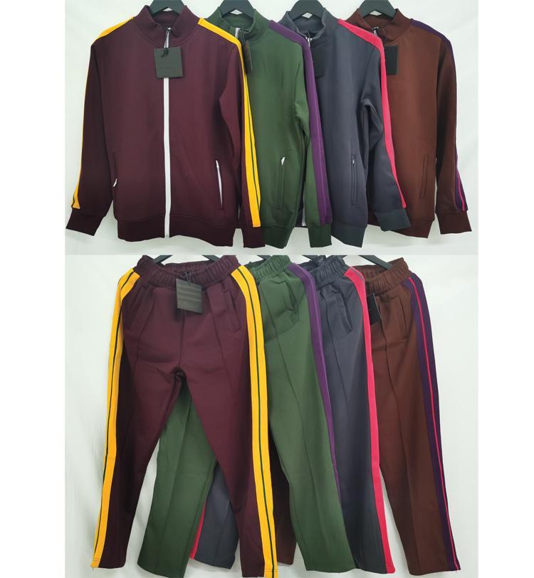 2020 Yeni Renkler Erkek Eşofman Erkek Kadın Ceket Hoodie Kapşonlu Pantolon Ile Erkekler S Giyim Spor Hoodies Eşofman Adam Tasarımcılar Giysi