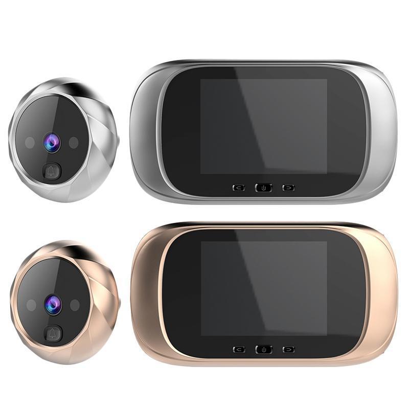 2.8 polegadas LCD a cores Sn campainha digital eletrônico Peephole de visão noturna Motion Sensor Porta Camera Viewer