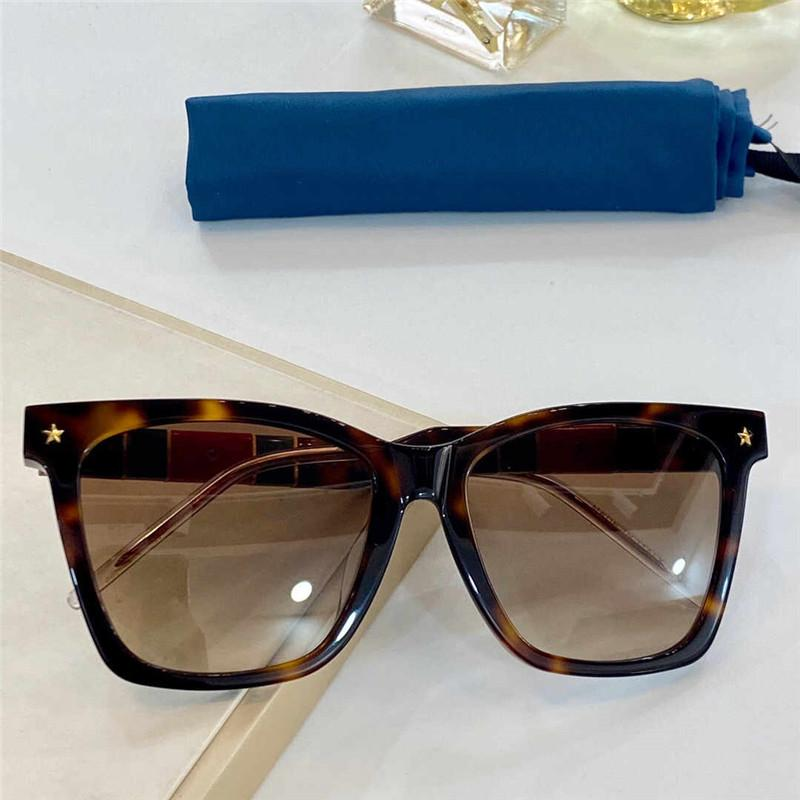 0715 New fashion sunglasses ladies square summer style plate rectangular full frame top quality UV protection with protective cover