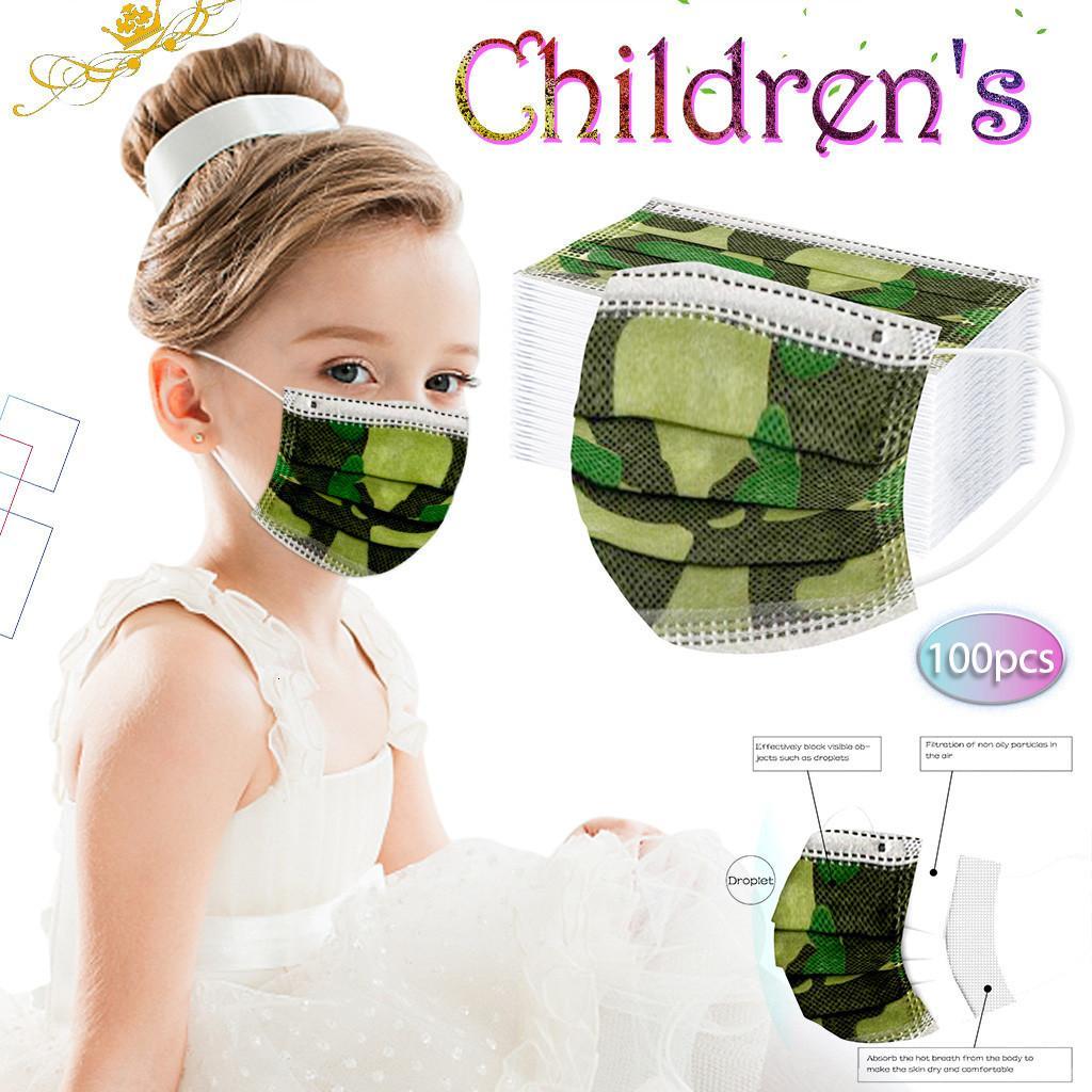 Детские дети 3-слойные нетканые одноразовые маски Бесплатная доставка лицевые маски защиты и персональная маска для здоровья лица сантехника в наличии