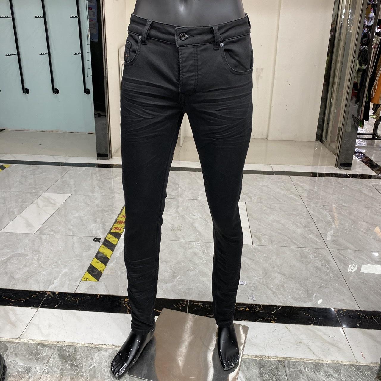 20S luxurys Designer Hommes Jeans Slim Visage Mark Designer-jambe Jeans New Vintage Patch trou Mode Hommes Jeans Biker Pantalons causales Hip Hop Denim