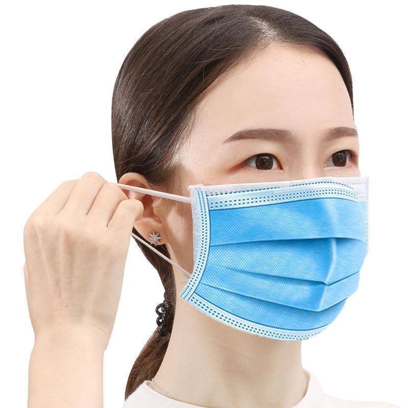 Black Fridaymask Masque de protection Trois couche de la bouche pour les hommes et les femmes pour prévenir la brume, la pulvérisation, la poussière et la ventilation du lundi