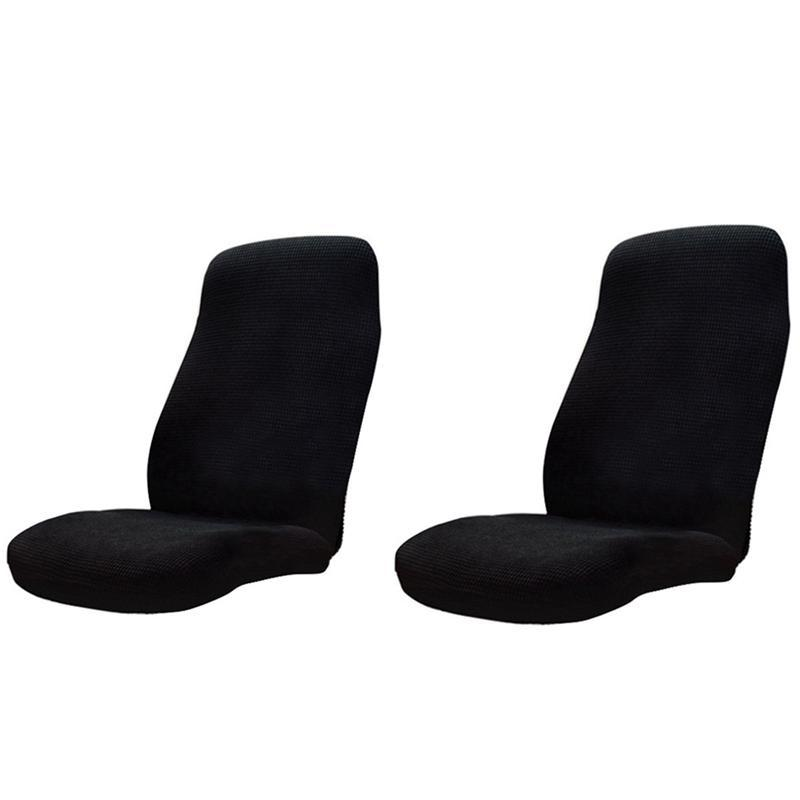 Anti-Dirty Rotating Stretch Office Computer Desk Seat Chair Cover Waterproof Elastic Chair Covers Removable Slipcovers