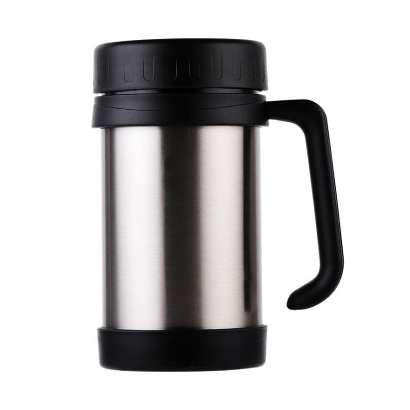 Cheapest Custom 17oz Car Office Coffee Mug Double Wall Insulate Vacuum Drinking Water Tumbler Leakproof Stainless Steel Tumbler EWD2265