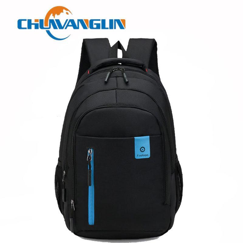 Chuwanglin Сумки для ноутбуков Мужская 15-дюймовая мода рюкзак Mochila Travel Feminina Мужские рюкзаки Сумка Бизнес-школа A8370 TDMPH