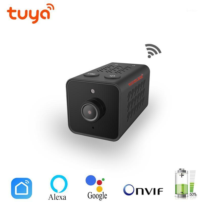 TUYA 1080P Mini Caméra IP WIFI CCTV NAND CAM BATTERIE ONVIF TF Video Caméscope Audio Home Sécurité Smart Life Alexa Google Home1