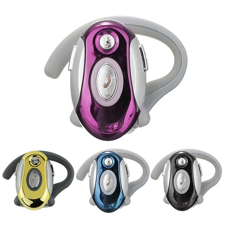 Бизнес Handsfree моно наушники Беспроводная гарнитура Bluetooth для Motorola HTC, черный