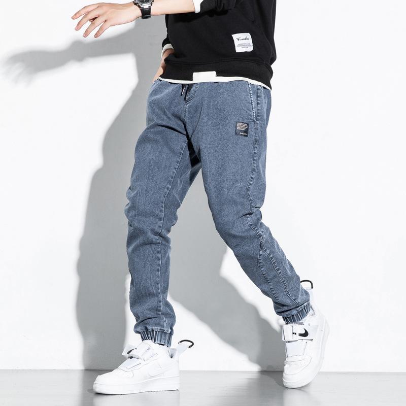 2020 nuevos jeans nuevos otoño invierno moda casual streetwear plus size pantalones de carga hip hop pantalones pantalones corredores joggers