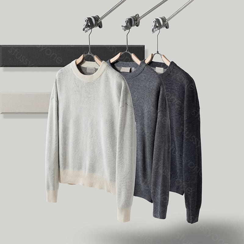 Homens designers suavers manga longa moda top outono primavera hip hop carta letra bordado pulôver camisola jumper v4g0
