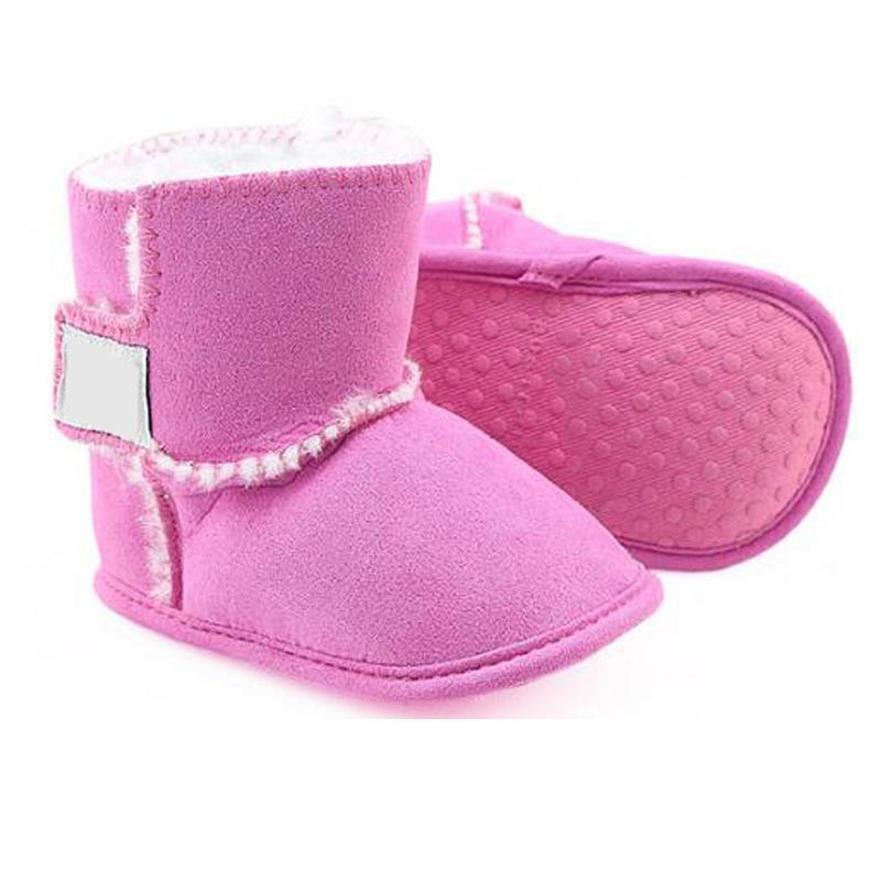 Criança infantil Sapatos de Sapatos Tamanho 11cm-12cm-13cm 2020 Botas Mais Novas Inverno Bebê Sapatos Recém-nascidos Meninos E Meninas Botas quentes