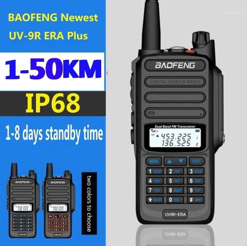 Nueva Range Longie Talkie Talkie Radio Communicator 30 Km para la caza Baofeng UV-9R ERA IP68 Impermeable CB Ham Radio HF Transceiver1