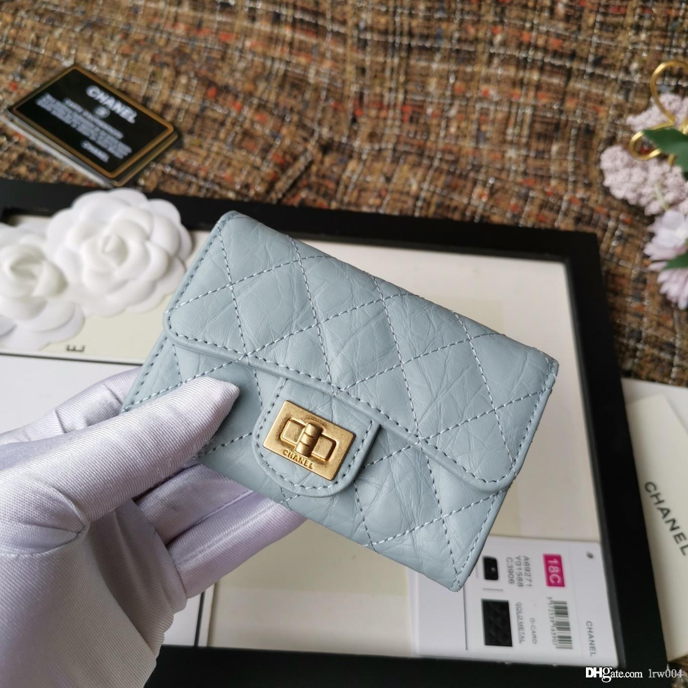 02 Hot new women classic small flap wallet luxury designer bag 80831 women wallet calfskin fashion size 11-8.5cm with box*