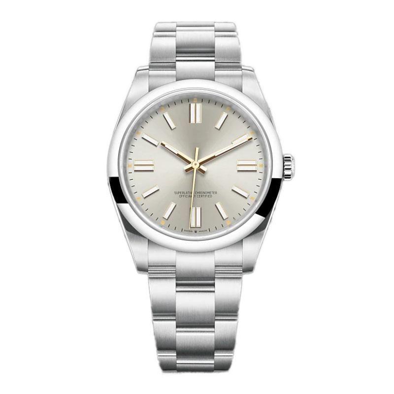 U1 Top Montre de luxe мужские автоматические механические часы 36 мм 41 мм из нержавеющей стали супер светящиеся наручные часы женщины водонепроницаемые часы