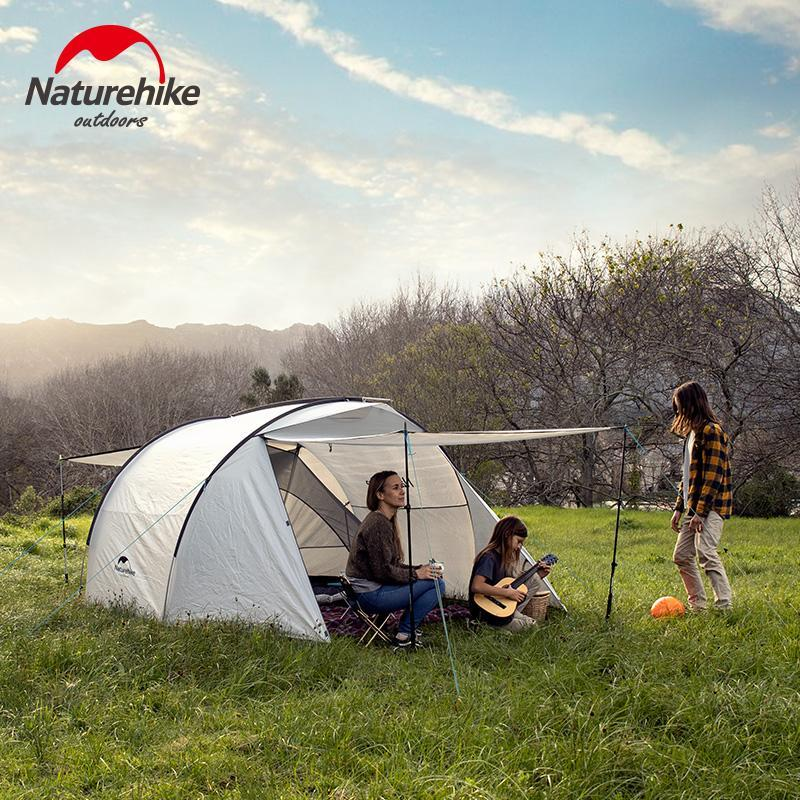 Naturehike 3 Person Outdoor Camping Family Tent Two Way ...