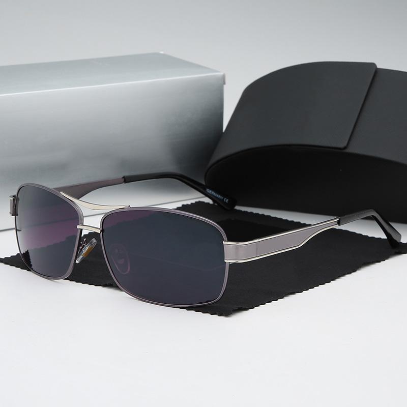 TFYJRAZJAZ Hohe Qualität Sonnenbrillen Mens Mode Beweise Sonnenbrille Designer Eyewear für Herren Womens Sonnenbrille Neue Gläser FXDHFDSH