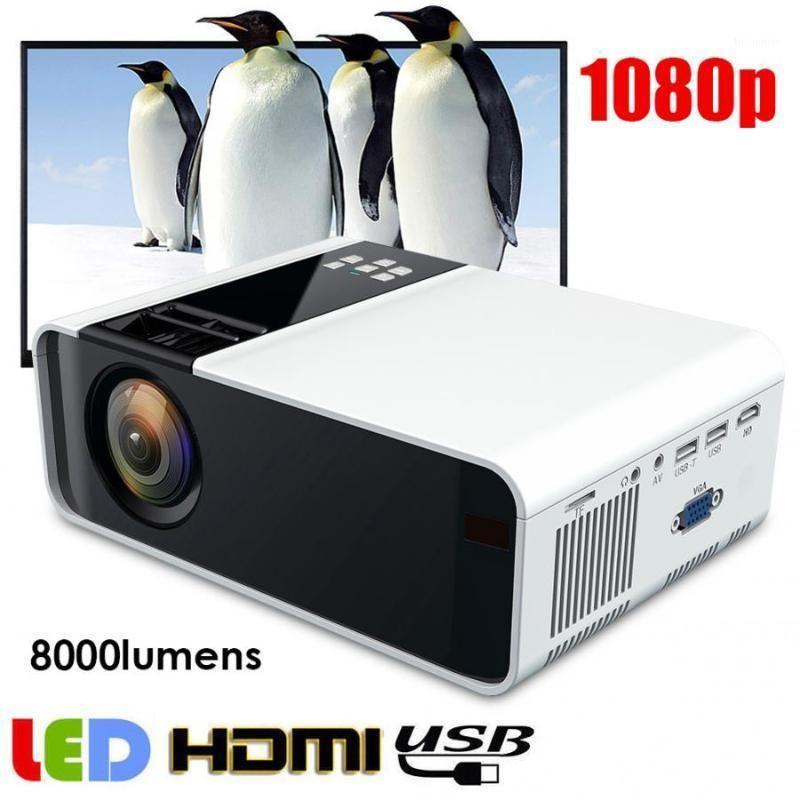W10 портативный мини проектор HD 1080P светодиодный проектор Redblue 3D 110-240V мультимедийный кинотеатр 480P стандартная версия1