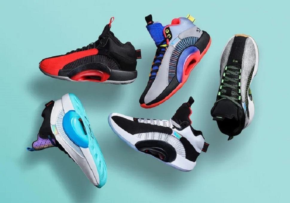 2020 Le plus récent 35 XXXV Bayou Garçons DNA Chicago GS Chaussures de basket avec boîte Jumpman 35 Hommes Femmes Sport Chaussures Taille 40 ~ 46
