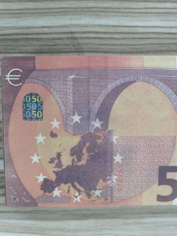Enfants Banknote Prop 100pcs / Pack Most Money ou US Papier Money Toy031 / Euro / Dollar Famille Copie réaliste MQTEM