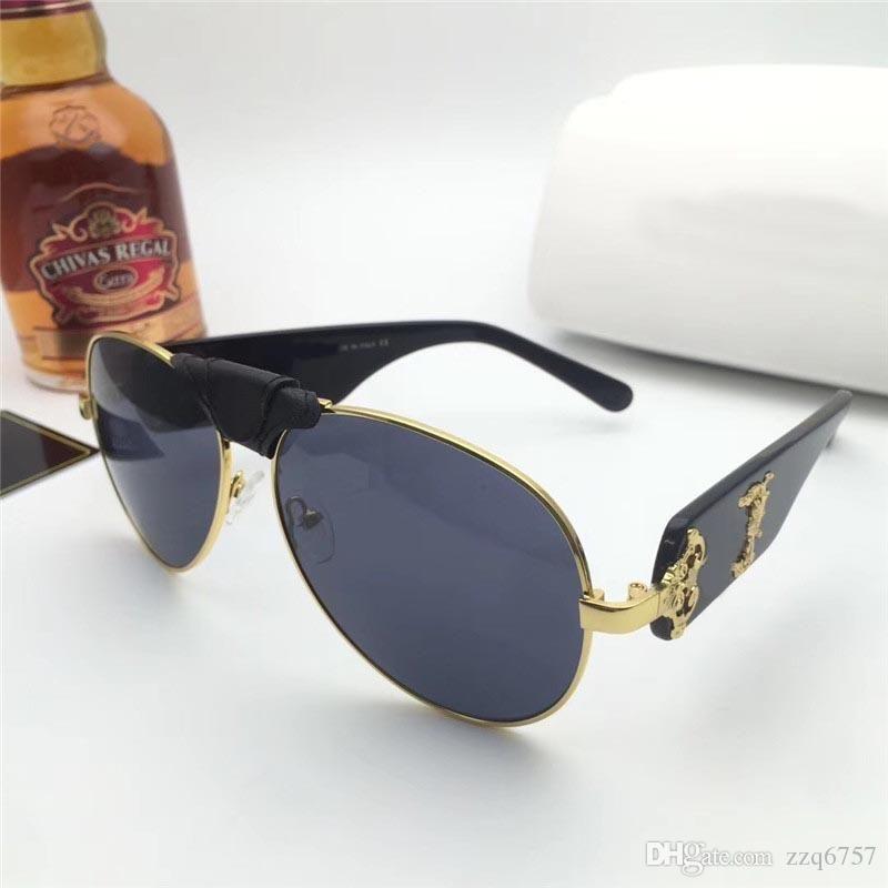 Nouvelle Mode Design Lunettes de soleil 2150 Cadre de pilote Top Qualité Haut-gamme Outdoor UV400 Protection Eyewear Grossiste Généreuse Style minimaliste