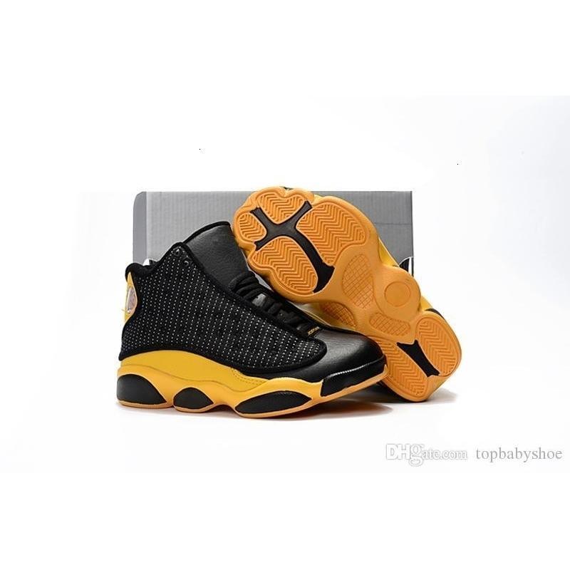 Zapatos bajos Negro baratas del baloncesto Orange 13s rojo terracota Hombres Mujeres Jóvenes Niños J13 Jumpman 13 Xiii zapatillas de bota de bebé