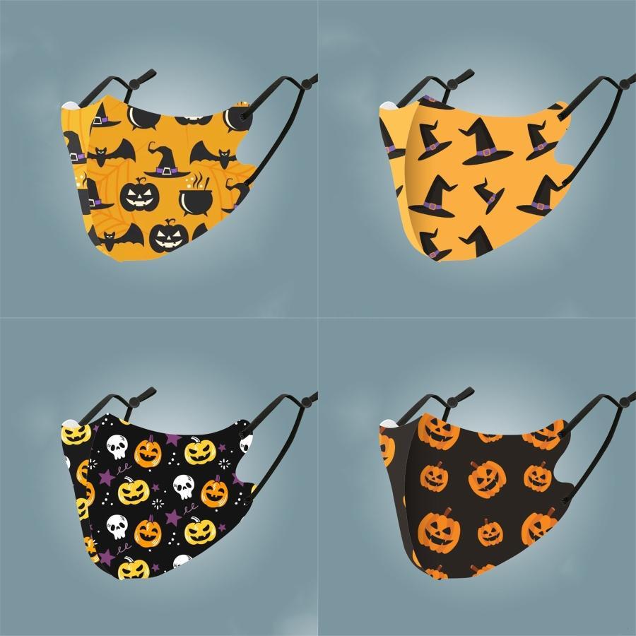 Masque des animaux Cat Gatto Loup Imprimer Four Seasons Family Pack peut être Nettoyé Masques respirante Fil Cton Masque Anti Smog # 992