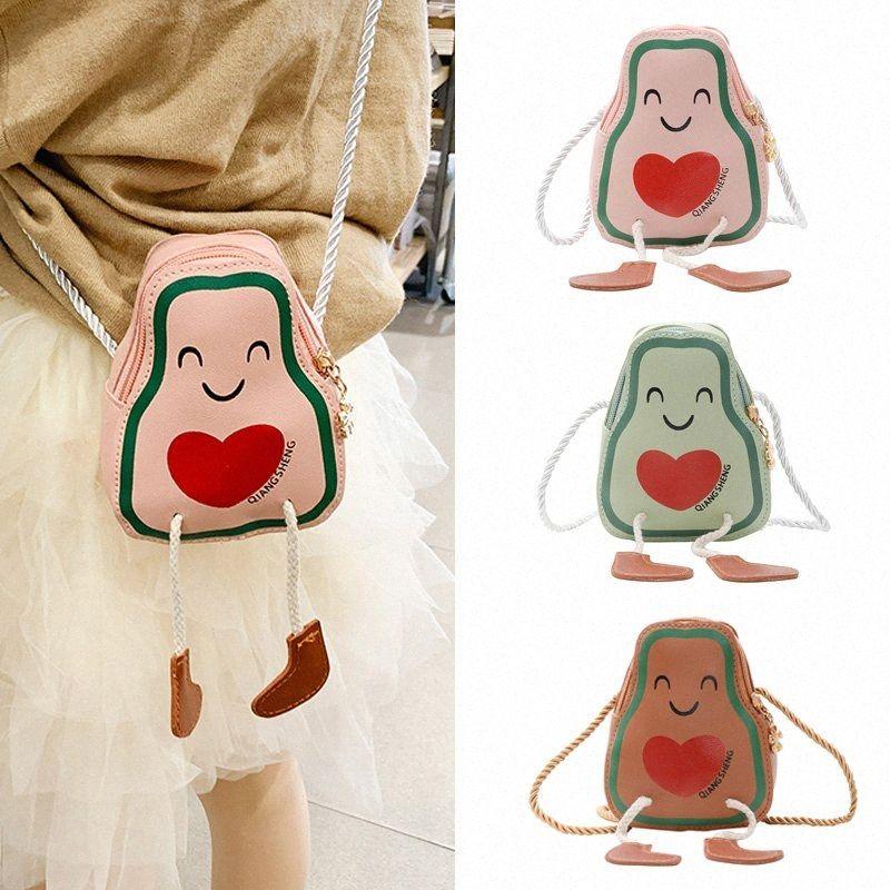 Lindo bebé Mini monedero 2020 Niña Linda Crossbody Bolsa de Kawaii Kids moneda pequeña bolsa de la carpeta del niño monederos regalo QWfX #
