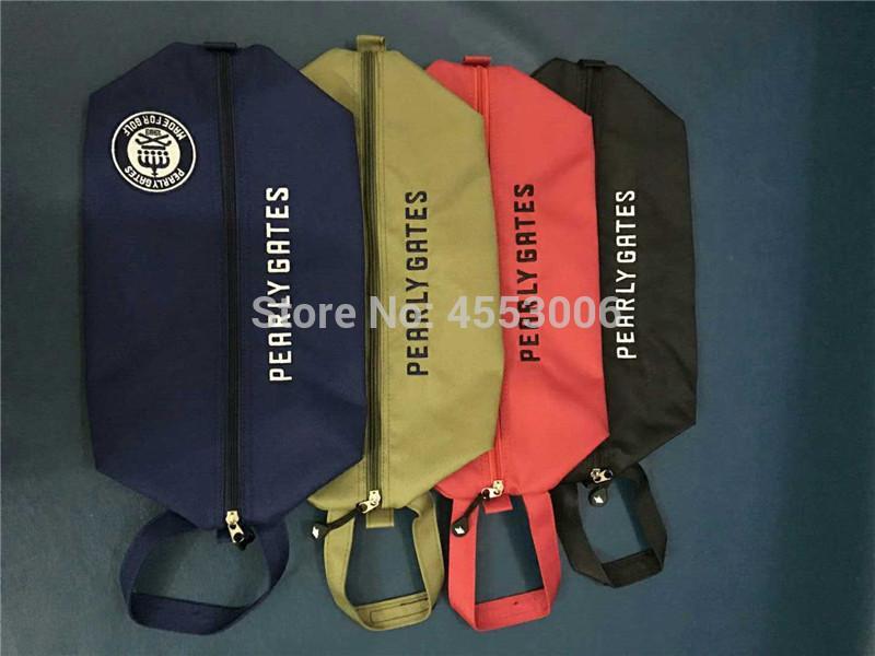 Новые портативные ботинки для гольфа Peash Pearly Gates Спорт на открытом воздухе Спортивные на молнии Гольф Маркер Маркер 4 Цвета Бесплатная Доставка 201022