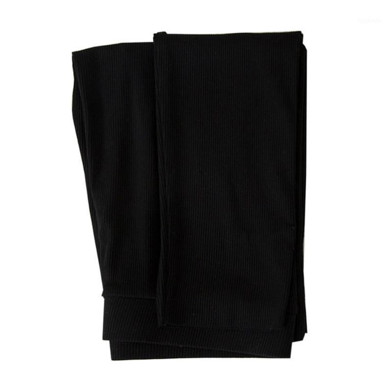 Женщина леггинсы тонкие плюс размер носить высокие талии брюки простые прохлые брюки для дома (стиль свободного размера, черный) 1