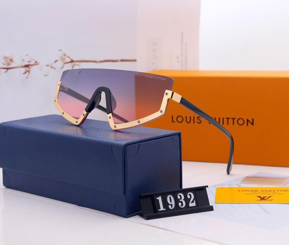 Heißer Verkäufer 2020 neue Sommer-Sonnenbrille für Frauen Markendesigner Mode Sonnenbrillen für Männer und Frauen Paketleiter-Platz 1932 Sonnenbrille