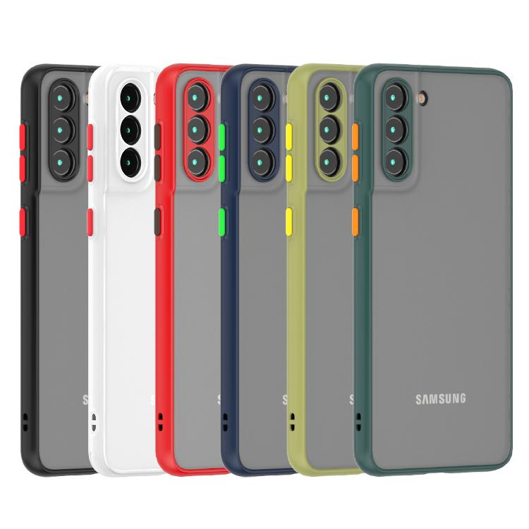 Для Samsung S30 Plus Case Anti Calepenprint замороженный чехол для мобильного телефона PC PC CATE с защитой камеры для мобильной задней крышки Samsung S21