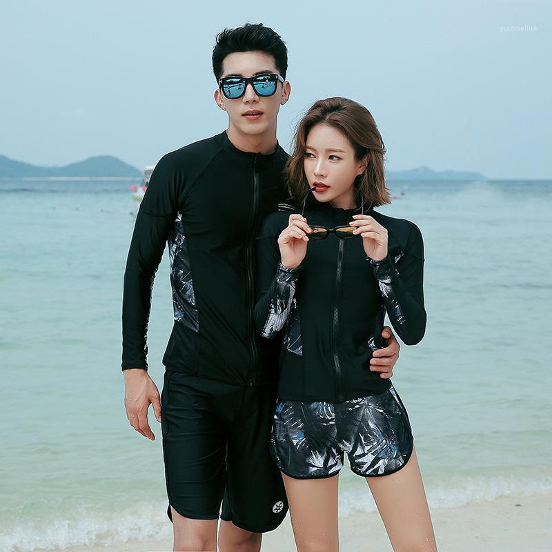 Chándal de los hombres Pantalones de manga larga para hombres y mujeres Pantalones de manga larga para mujer Jellyfish Snorkeling Surfing traje de baño Protector solar Corea del Sur1