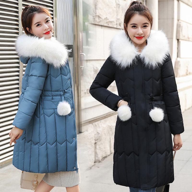 Women's Down & Parkas Plus Size Thick Winter Jacket Women Coats 2021 Fashion Coat Wadded Jackets Warm Outwear
