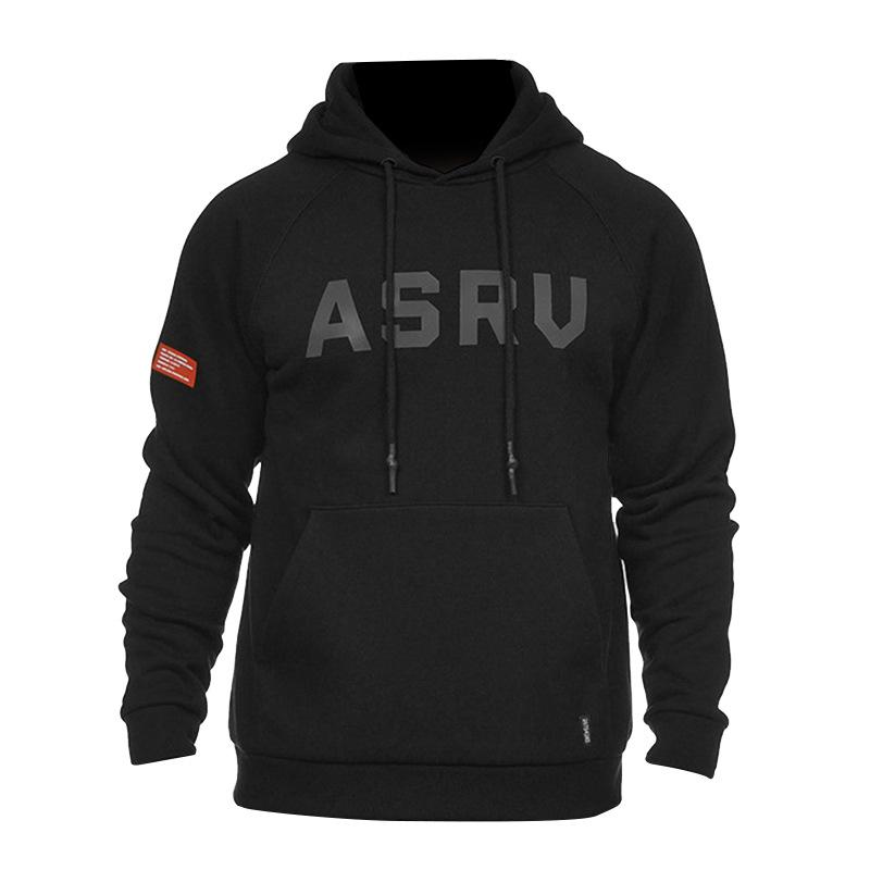 ASRV Topstoney 원숭이 패션 망 스웨트 코트 확장 재킷 긴 라인 힙합 스트리트 패션 후드 스웨터 코트 점퍼
