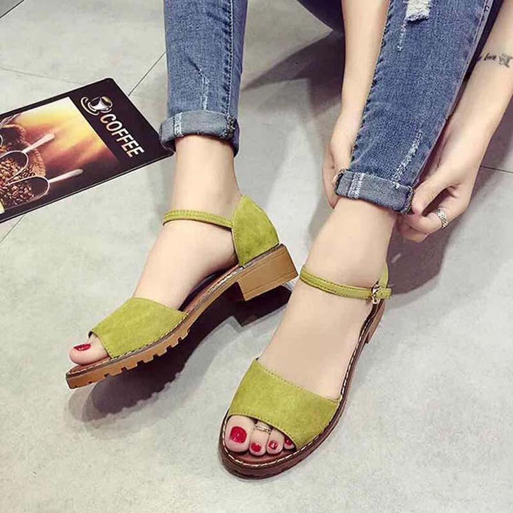 Classics Женские sandalsfashion Бич толстым дном сандалии алфавит леди сандалии кожа высокой пятки обувь 07 P605