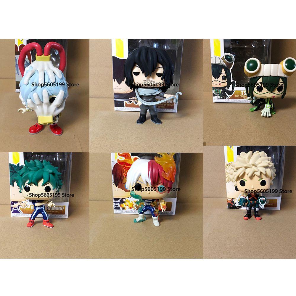 Meu herói Academia Katsuki Deku Pop AllMight Tomura Shigaraki Modelo com Caixa Figura Colhavible Modelo Brinquedo Para Presente 1008