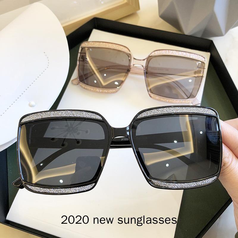 Женщины Sun Square Eyewear модный дизайнер для наружного поляризованного большого бренда Солнцезащитные очки Очки негабаритные UV400 NX ETRFM