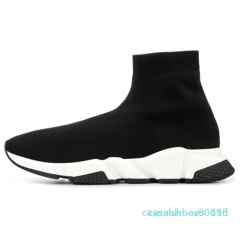 y2020 modacı çorap ayakkabı hız eğitmen mens bağbozumu spor ayakkabıları çorap çizmeler platformu eğitmenler 19C etoile tripler rahat ayakkabı womens