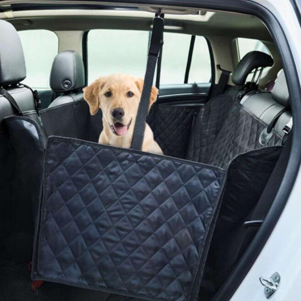 cão sair de volta assento esteira acolchoado carro de algodão animal de estimação hammock