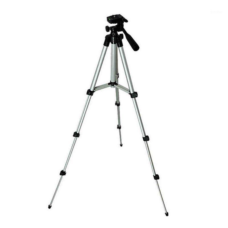 ترايبودس خفيفة الوزن الألومنيوم البسيطة ترايبود 4 أقسام حامل كاميرا عالمية po1