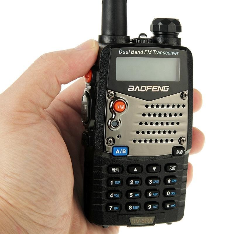 Baofeng UV-5RA Профессиональный двойной приемопередатчик FM Двухстороннее радио Walkie Talkie передатчик