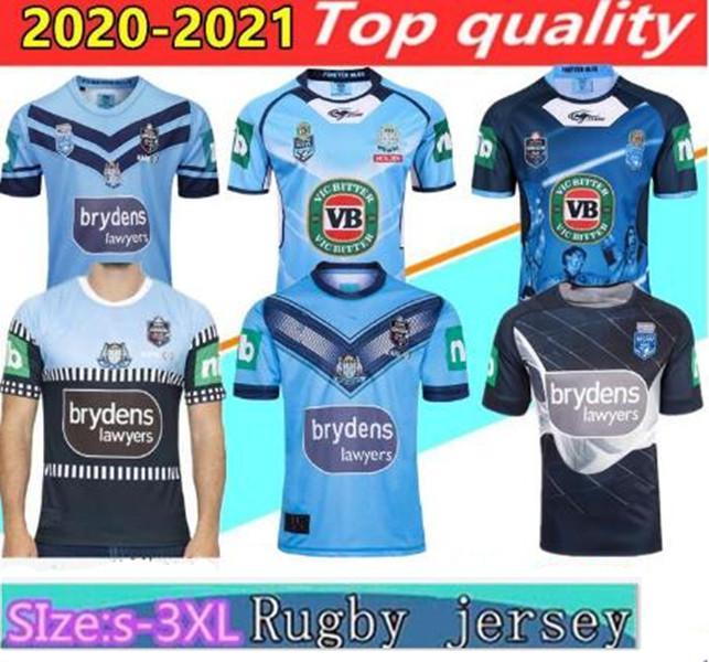 Neue 2020 2021 NSW Blues Home Pro Jersey NSW Herkunftszustand Rugby-Trikots 18 19 20 Südwales Rugby Jersey