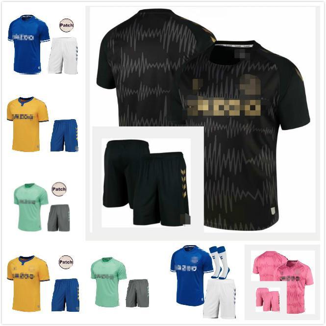 James Rodriguez 2020 2021 Hommes + Enfants Soccer Jerseys Sigurdsson Kean Delph Gbamin André Gomes Home Away Troisième 20 21 Chemises de football Richarlison