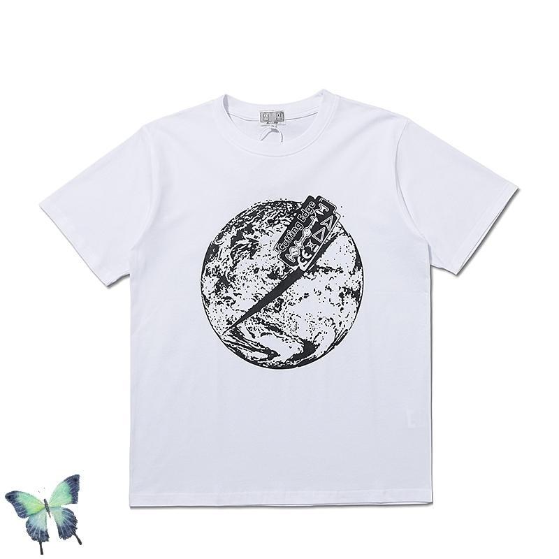 Yeni Şahit En Tees Cav Boş Moda Rahat T Gömlek Erkekler Kadınlar Yüksek Sokak Yıkanmış T-Shirt X1214