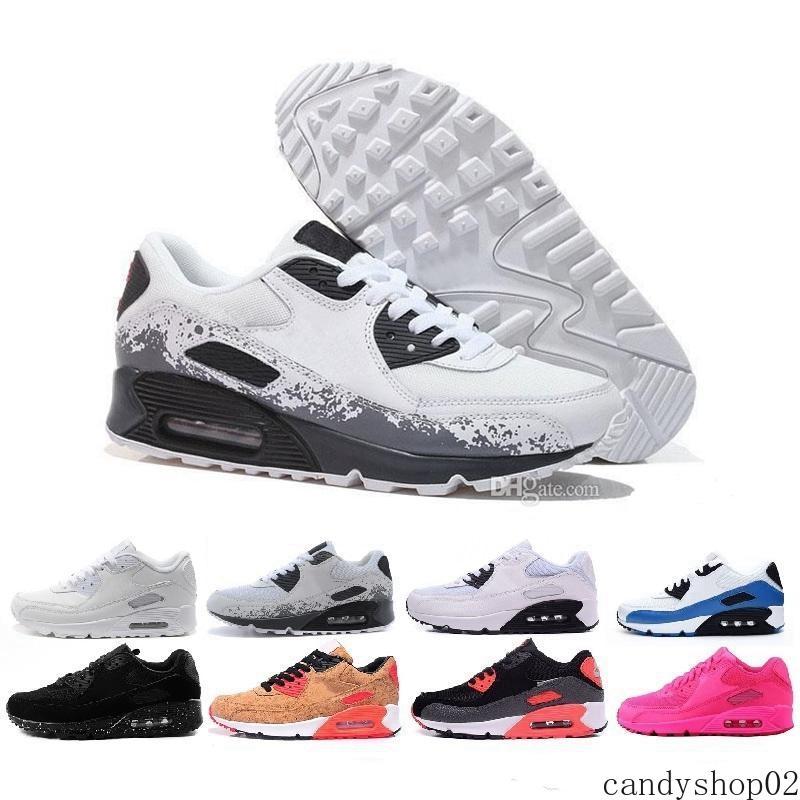 2020 Ivory 90 Mens Running Shoes Be True Mixtape Triplo preto branco das mulheres dos homens clássico vermelho amarelo instrutor Sports Cushion Surface36-45 c02