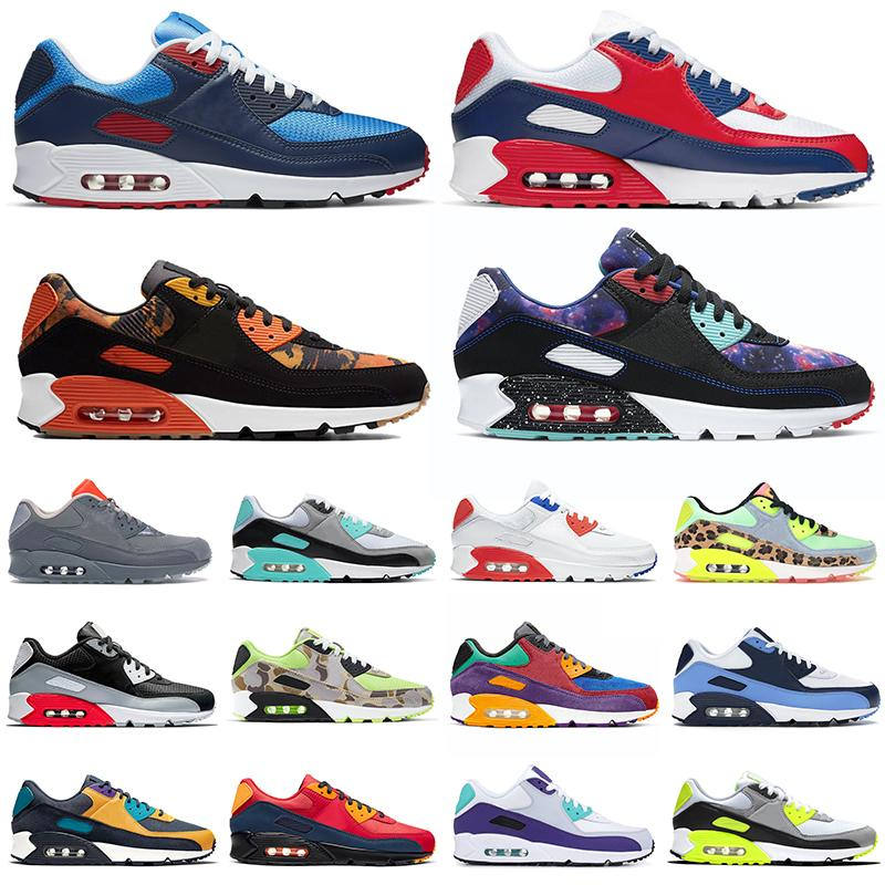 2021 new running USA 90 shoes men women chaussures 90s Camo Worldwide Supernova triple white black mens trainers Outdoor Sports Sneakers