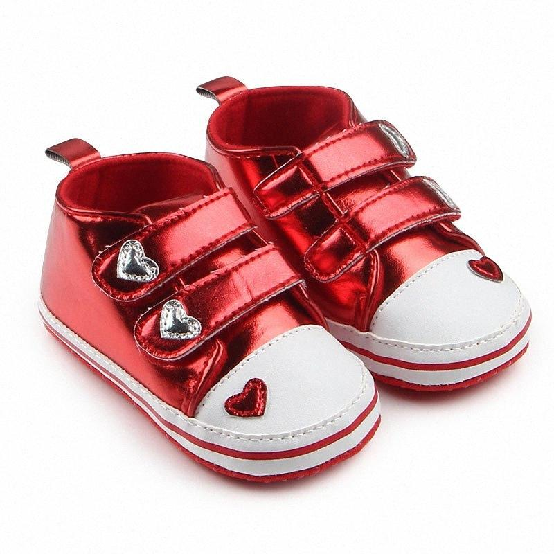 0-18 Months Newborn Baby Shoes Boys Breathable Girls Baby Sneakers Casual Kids Toddler Rose Gold Shoes U0HN#