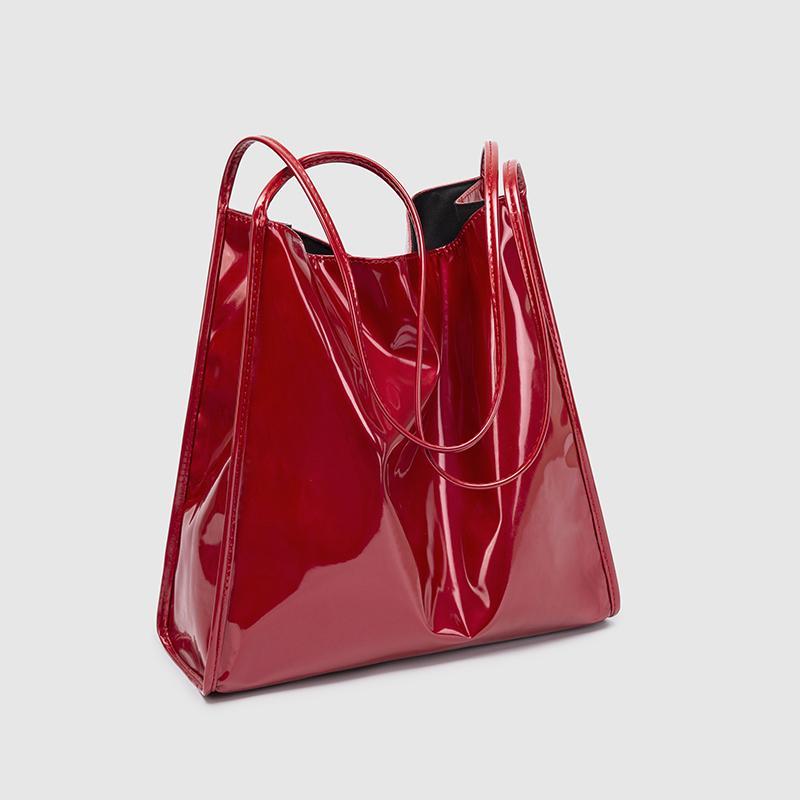 2021 Pelle moda donna Eco amichevole Londra Shopping Shopping Grande Capacità Borsa a tracolla Acqua Dendita Acqua Uhro