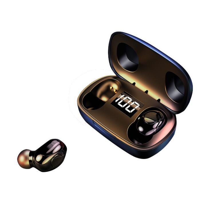 Bluetooth 5.0 M10 TWS Беспроводная гарнитура Двусторонние спортивные главы VS F9 SM-R175 для iPhone 11 12 Samsung S10 хороший подарок