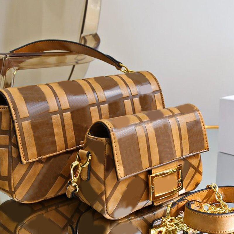 바게뜨 가방 어깨 가방 정품 가죽 지갑 패션 긴 어깨 끈 편지 고품질 인테리어 지퍼 무료 배송