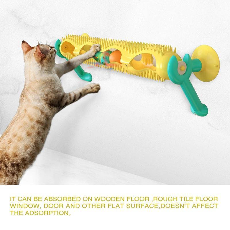 Toy Pet Gato engraçado Bola Otário do Windows track ball Reproduzir faixa Toy Cat Tubo Túnel jogamos com bolas Pet Gatinho Educacional #